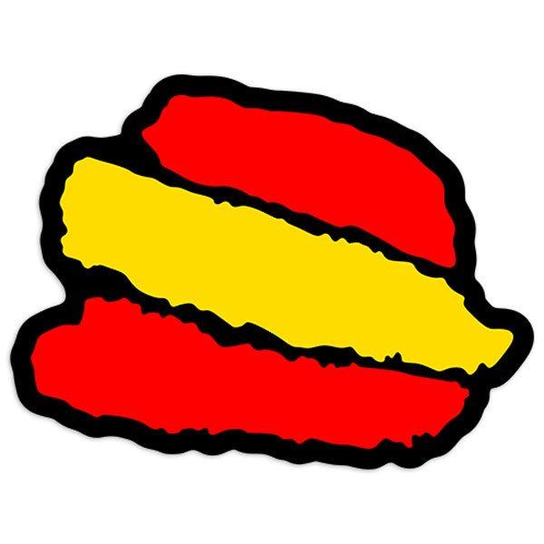 Autocollants: Caresse Espagne 2