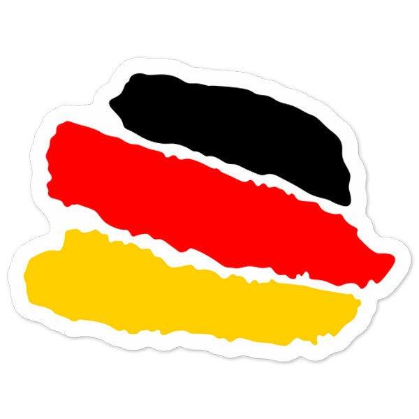 Autocollants: Caresse Allemagne