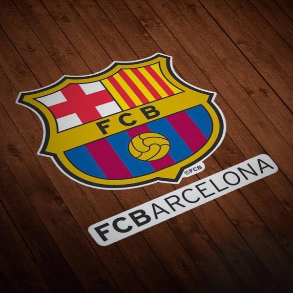 Autocollants: Futbol Club Barcelona