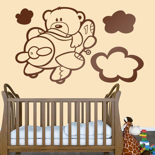Stickers pour enfants: Aviateur