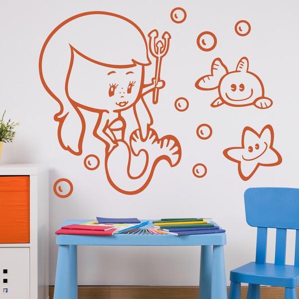 Stickers pour enfants: Sirenita