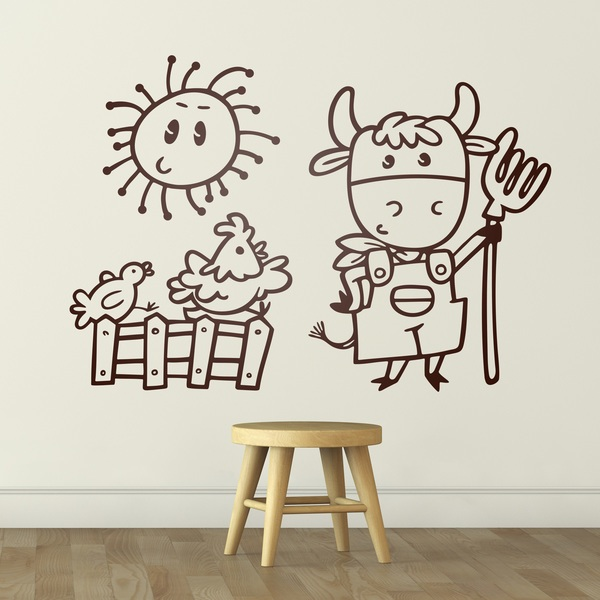Stickers pour enfants: Granjero