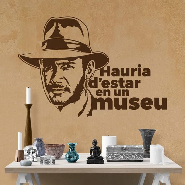 Stickers muraux: Hauria d estar en un museu