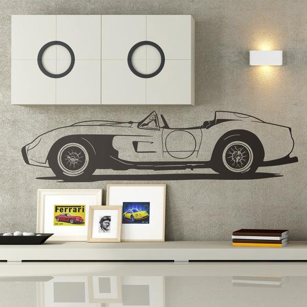 Stickers muraux: Ferrari Testa Rossa 1957