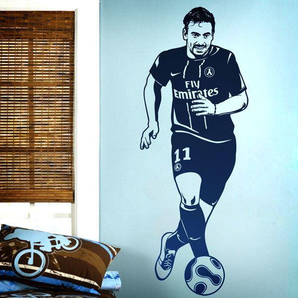 Stickers muraux: Footballeur 1