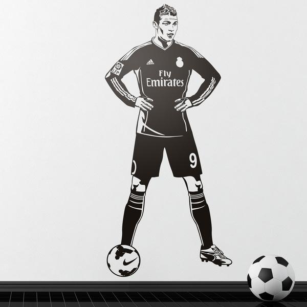 Stickers muraux: Footballeur 2