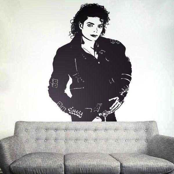 Stickers muraux: Michael Jackson Bad