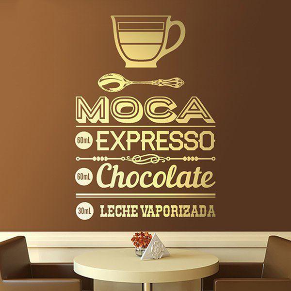 Stickers muraux: Café Moca