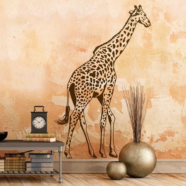 Stickers muraux: Girafe