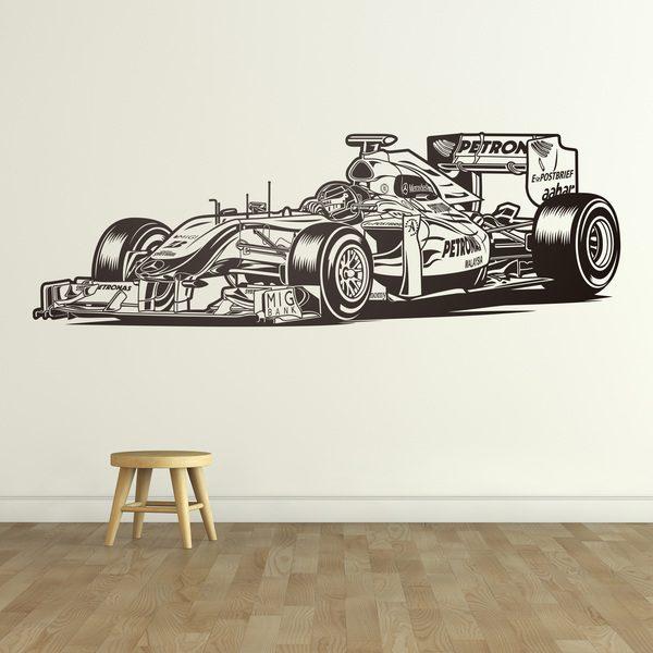 Stickers muraux: Formule 1