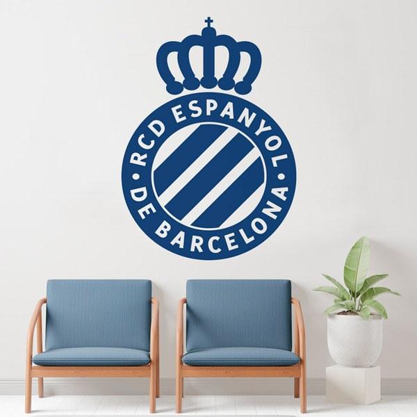 Stickers muraux: Écusson Espanyol de Barcelona