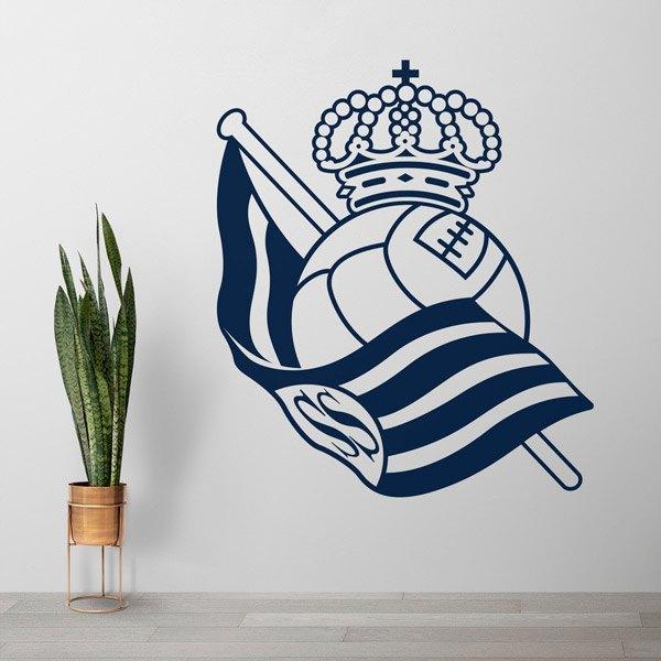 Stickers muraux: Écusson Real Sociedad de San Sebastián