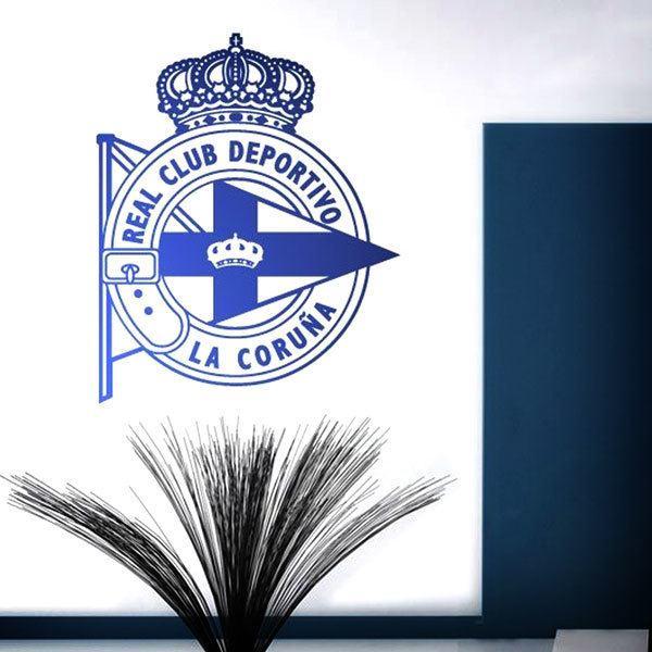 Stickers muraux: Écusson Deportivo de la Coruña