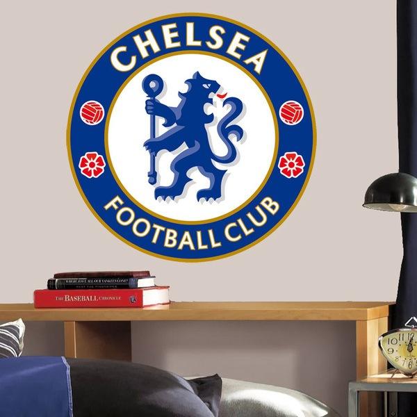Stickers muraux: Écusson Chelsea FC couleur