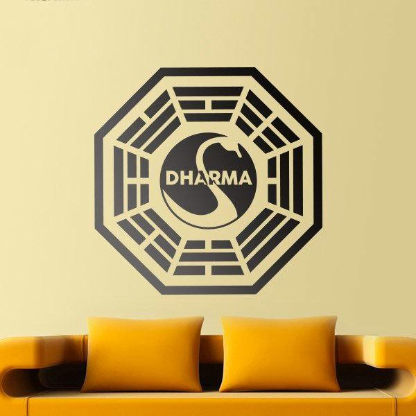 Stickers muraux: Dharma Initiative