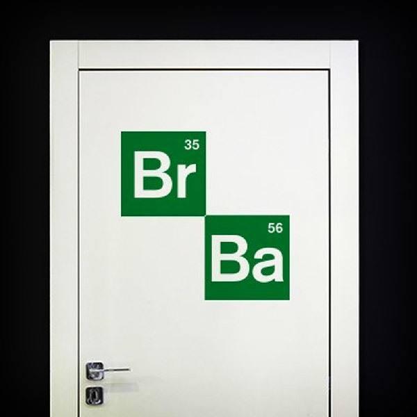 Stickers muraux: Logo Breaking Bad 2