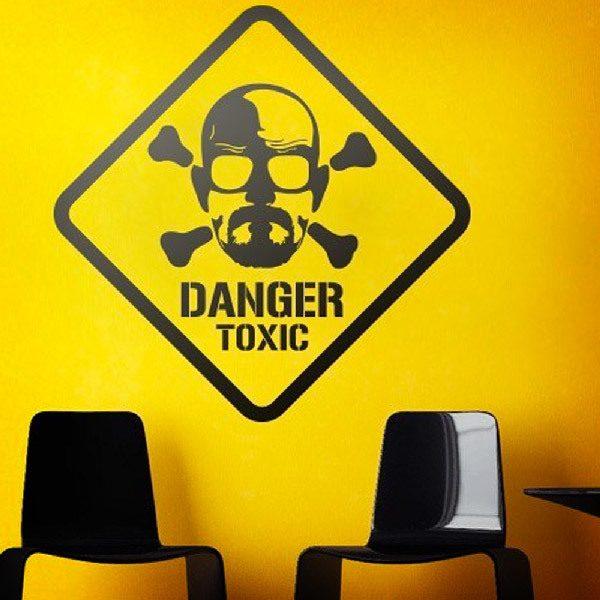 Stickers muraux: Heisenberg Danger Toxic