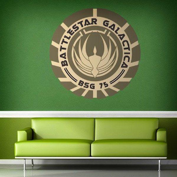 Stickers muraux: Battlestar Galactica