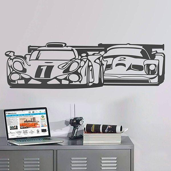 Stickers muraux: 24 Heures du Mans
