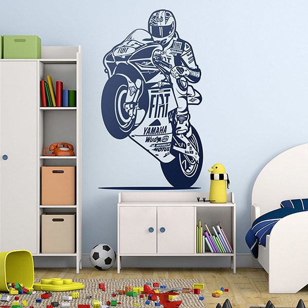 Stickers muraux: MotoGP 46