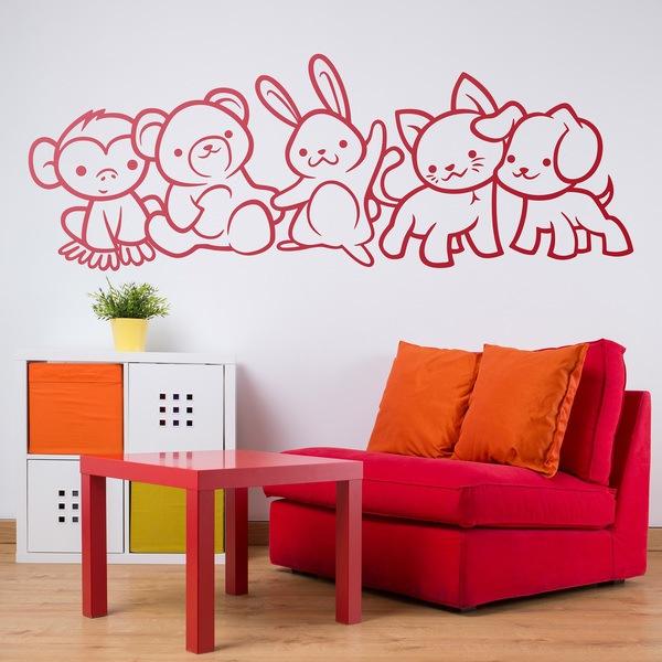 Stickers pour enfants: Animaux