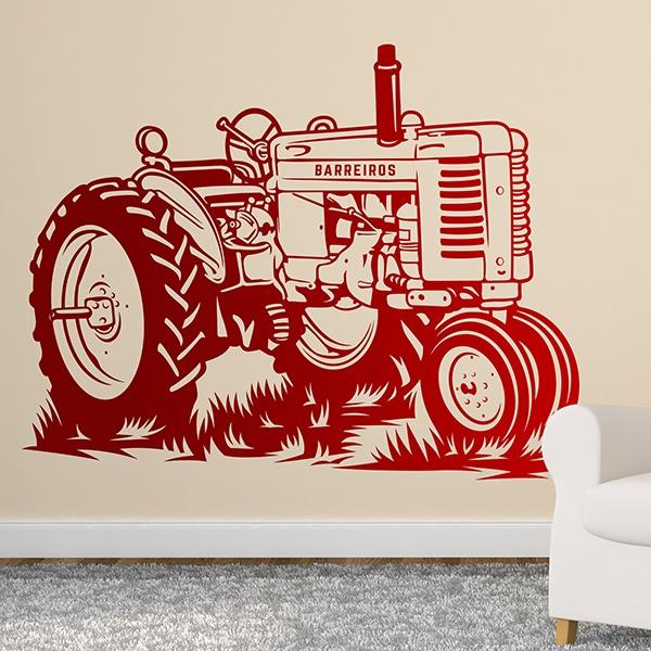 Stickers muraux: Tracteur John Deere