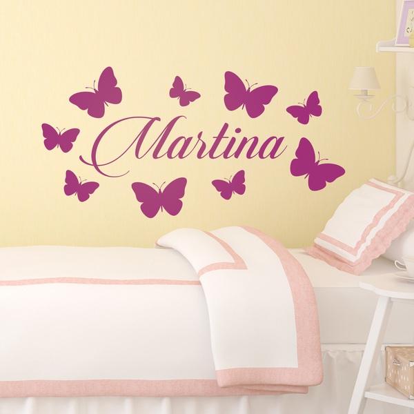 Stickers pour enfants: Personnalisé Papillons 2