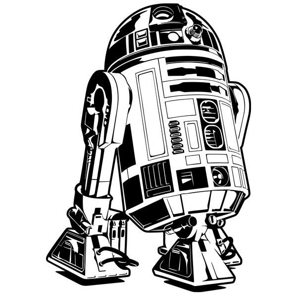 Stickers muraux: R2-D2