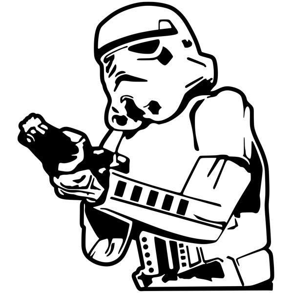 Stickers muraux: Stormtrooper 1