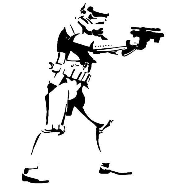 Stickers muraux: Stormtrooper 3