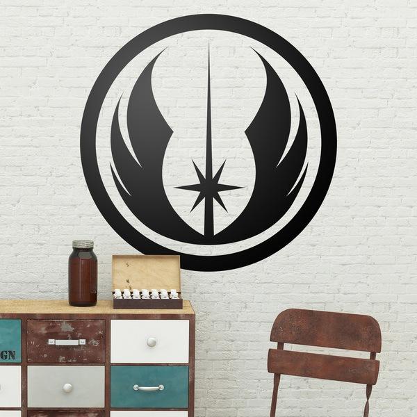 Stickers muraux: Symbole de l Ordre Jedi