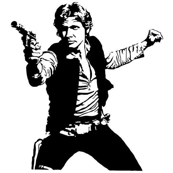 Stickers muraux: Han Solo