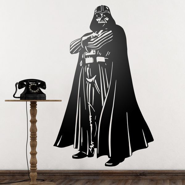 Stickers muraux: Darth Vader 1