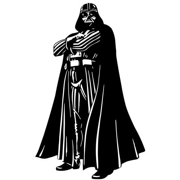 Stickers muraux: Darth Vader 1