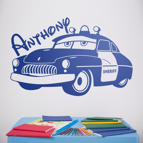 Stickers pour enfants: Cars Sheriff