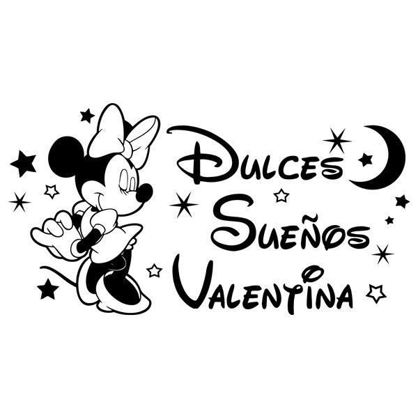 Stickers pour enfants: Minnie Mouse Dulces Sueños