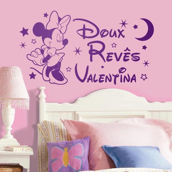 Stickers pour enfants: Minnie Mouse Doux Revês