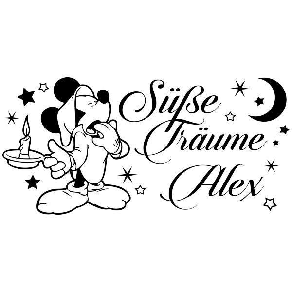 Stickers pour enfants: Mickey Mouse Süße Träume
