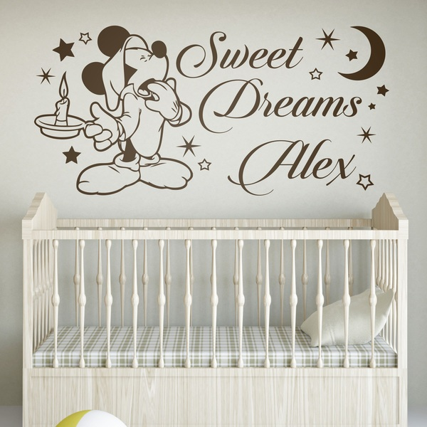 Stickers pour enfants: Mickey Mouse Sweet Dreams