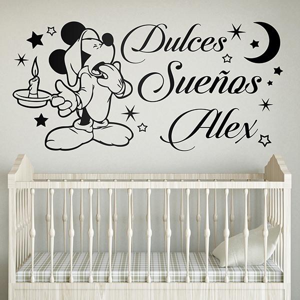 Stickers pour enfants: Mickey Mouse Dulces Sueños