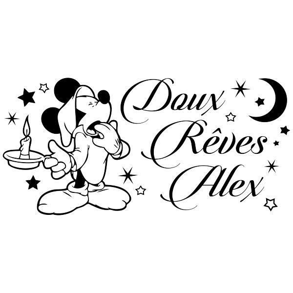 Stickers pour enfants: Mickey Mouse Doux Rêves