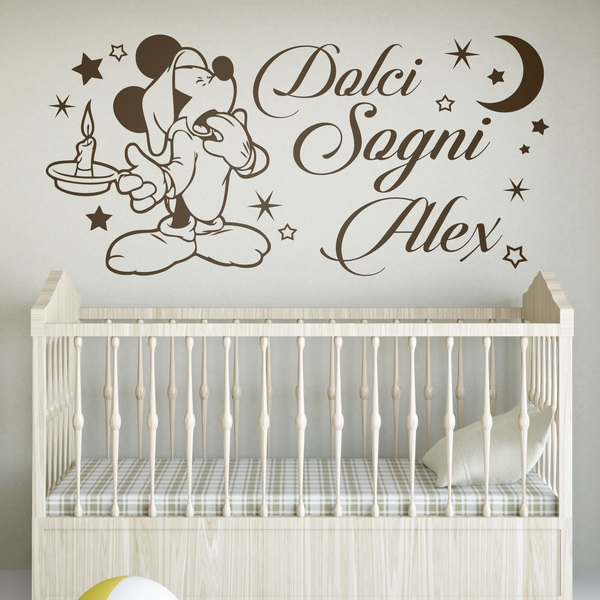 Stickers pour enfants: Mickey Mouse Dolci Sogni