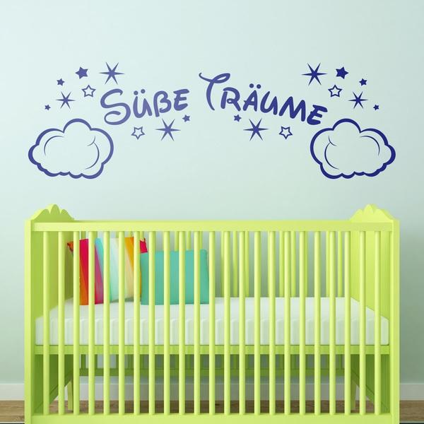 Stickers pour enfants: Nuages et les étoiles Süße Träume