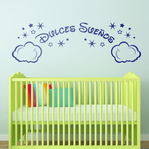 Stickers pour enfants: Nuages et les étoiles Dulces Sueños