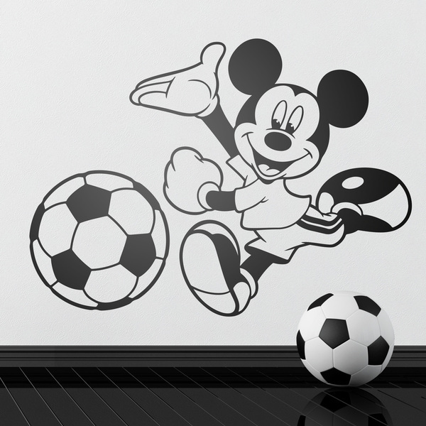 Stickers pour enfants: Mickey Mouse Football 2