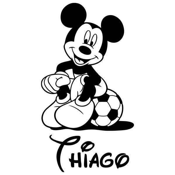 Stickers pour enfants: Mickey Mouse Football 4