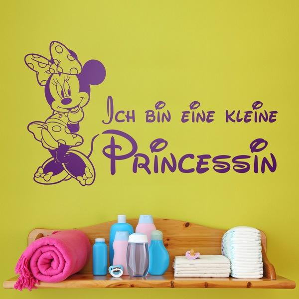 Stickers pour enfants: Minnie Ich bin eine kleine Princessin