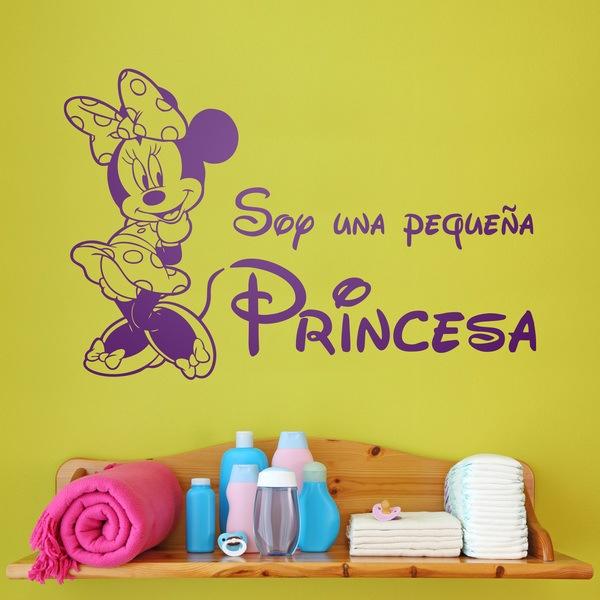 Stickers pour enfants: Minnie Soy una pequeña princesa