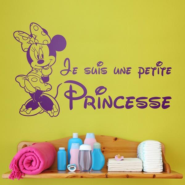 Stickers pour enfants: Minnie Je suis une petite princesse