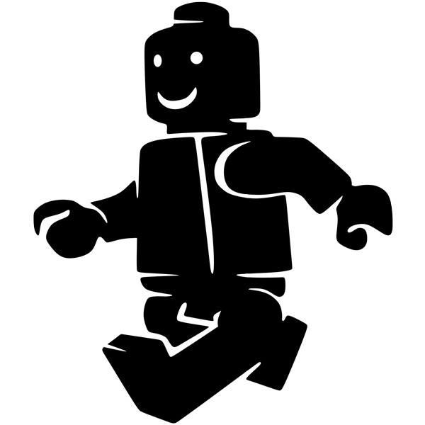 Stickers pour enfants: Lego Chiffre Marche